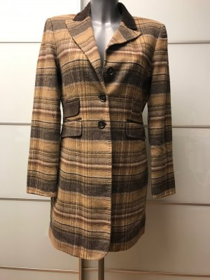 Frock Coat light brown-brown wool