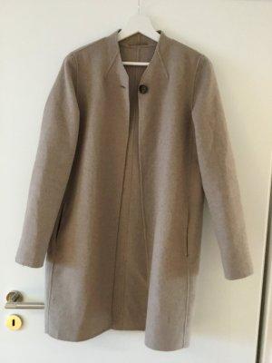 Beige/Brauner Mantel von Esprit Größe S