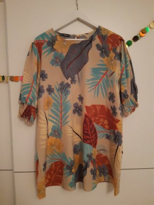 Beige / bunte Bluse von Shein 50