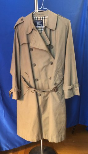 beige BURBERRYS VINTAGE Trenchcoat mit Gürtel XXL/ NP 1790 €