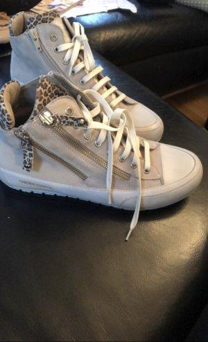 Candice Cooper Sneaker alta beige chiaro