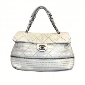 Chanel Handbag white leather