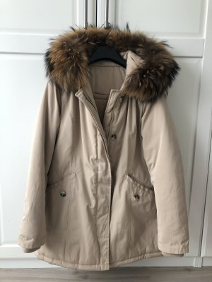 Fur Jacket beige-cream