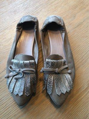 Beige graue Schuhe von Kennel & Schmenger