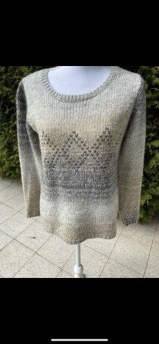 Culture Crewneck Sweater light grey-beige