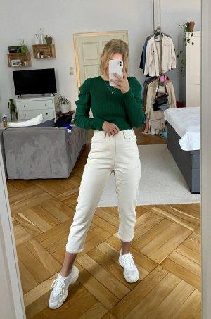Beige Highwaist Jeans S neu