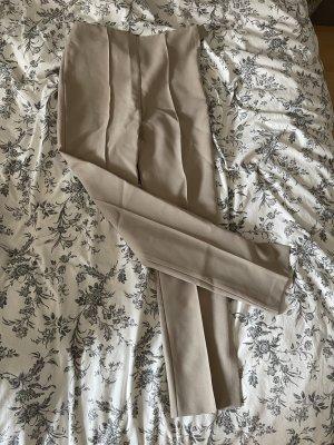 Asos Pantalón de campana beige-crema