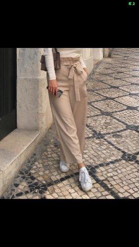 Beige Hose Culotte Zara