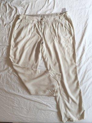 Cecil Pantalone jersey multicolore Lyocell