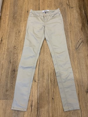 Only Pantalon strech beige clair