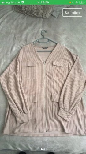 SheIn Oversized Jacket grey brown-beige