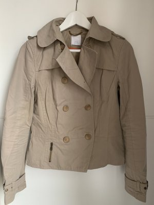 Alba Moda Pea Jacket oatmeal cotton