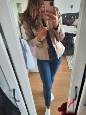 Motivi Faux Leather Jacket cream-beige