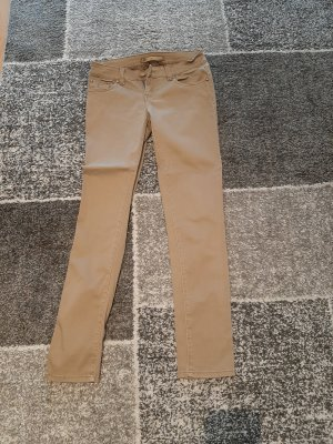 Vs. miss Pantalone a vita bassa beige-color cammello