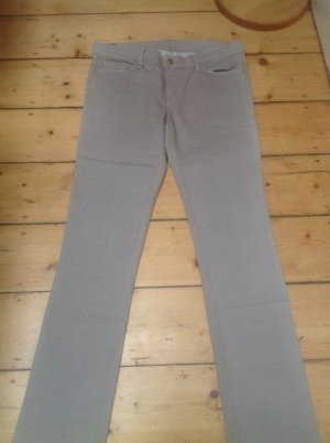 7 For All Mankind Jeansy z prostymi nogawkami beżowy