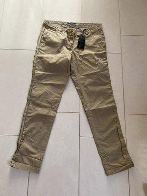 Maison Scotch Pantalon 7/8 gris brun-gris vert