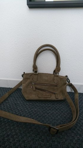 Beige kleine Handtasche