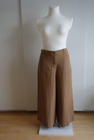 Massimo Dutti Pantalone culotte color cammello