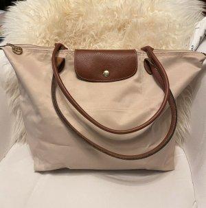 Longchamp Borsa telaio crema