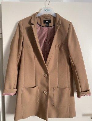 Beige Mantel/Blazer elegant