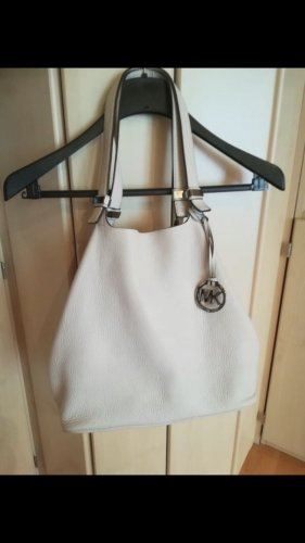 Michael Kors Borsellino bianco sporco
