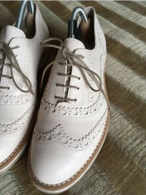 AGL Lace Shoes light grey-oatmeal