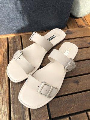 Beige Riemchen Sandalen neu