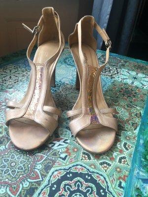 Lloyd T-Strap Sandals cream