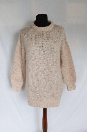 Beige rosa farbender Pullover von H&M Größe XS S 36 38