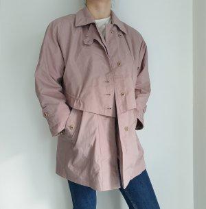 beige rosa Trench Coat trenchcoat Jacke Pullover Pulli Cardigan