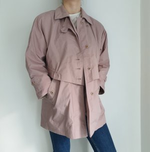 beige rosa Trench Coat trenchcoat Jacke Pullover Pulli Cardigan