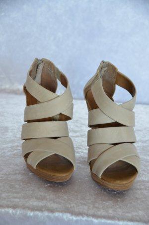 beige Sandalette von Mango