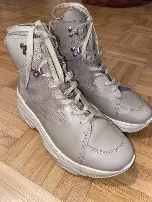 & other stories High Top Sneaker beige