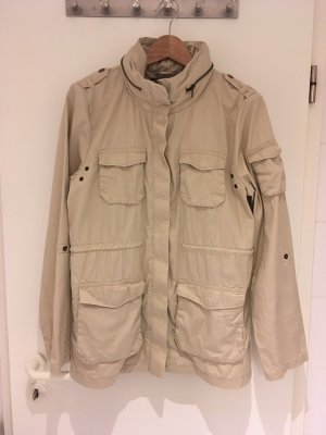 H&M Safari Jacket beige-light brown cotton