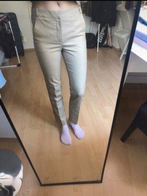 Beige Stoffhose von Zara, xs