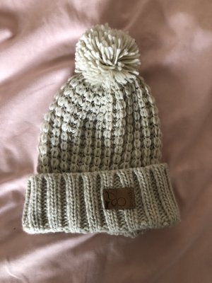 Berydale Knitted Hat oatmeal-cream