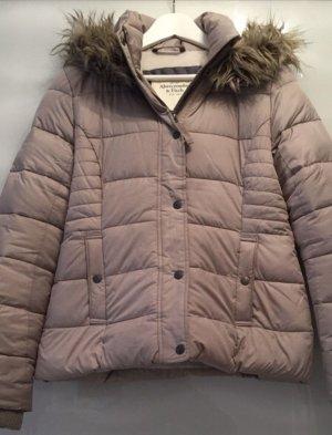 Abercrombie & Fitch Kurtka zimowa beżowy-jasnobrązowy