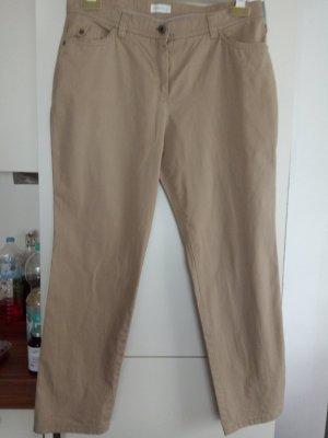 Beigefarbene Hose von Bonita Gr.42
