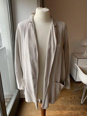 Zara Woman Blazer Boyfriend beige claro