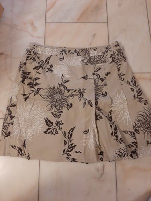 Esprit Plaid Skirt white-beige