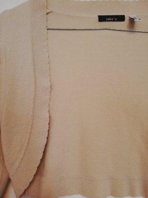 Jake*s Chaleco de punto crema-beige claro Viscosa