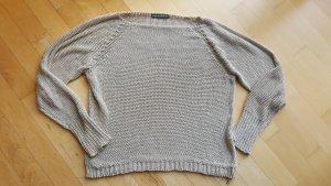 Drykorn Pullover a maglia grossa crema Viscosa