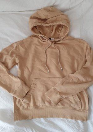 H&M Camicia con cappuccio beige
