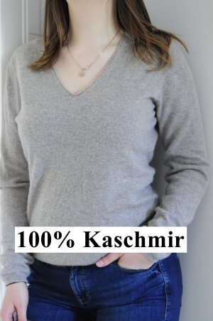 beiger Kaschmir Pullover - Repeat