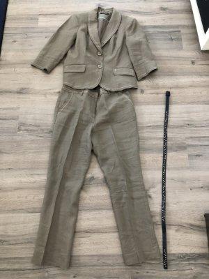 Sixth Sense Trouser Suit oatmeal-beige linen