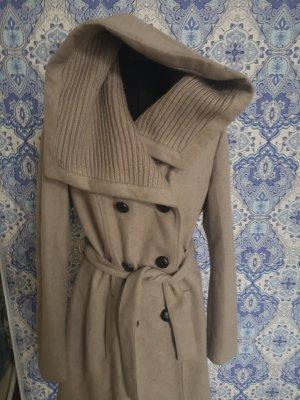 Camaieu Manteau en laine beige clair