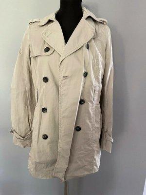 Beiger Mantel / Trenchcoat von Zara, Gr. M