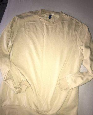 Beiger oversize Pullover