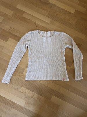Beiger Pullover aus weicher Wolle von We Love XOX