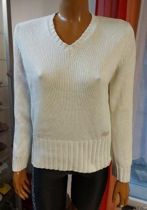 beiger Pullover Größe M